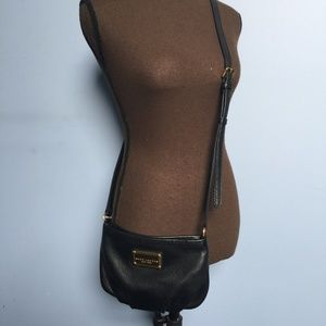 Marc Jacobs Pebbled Leather Cross Body Bag
